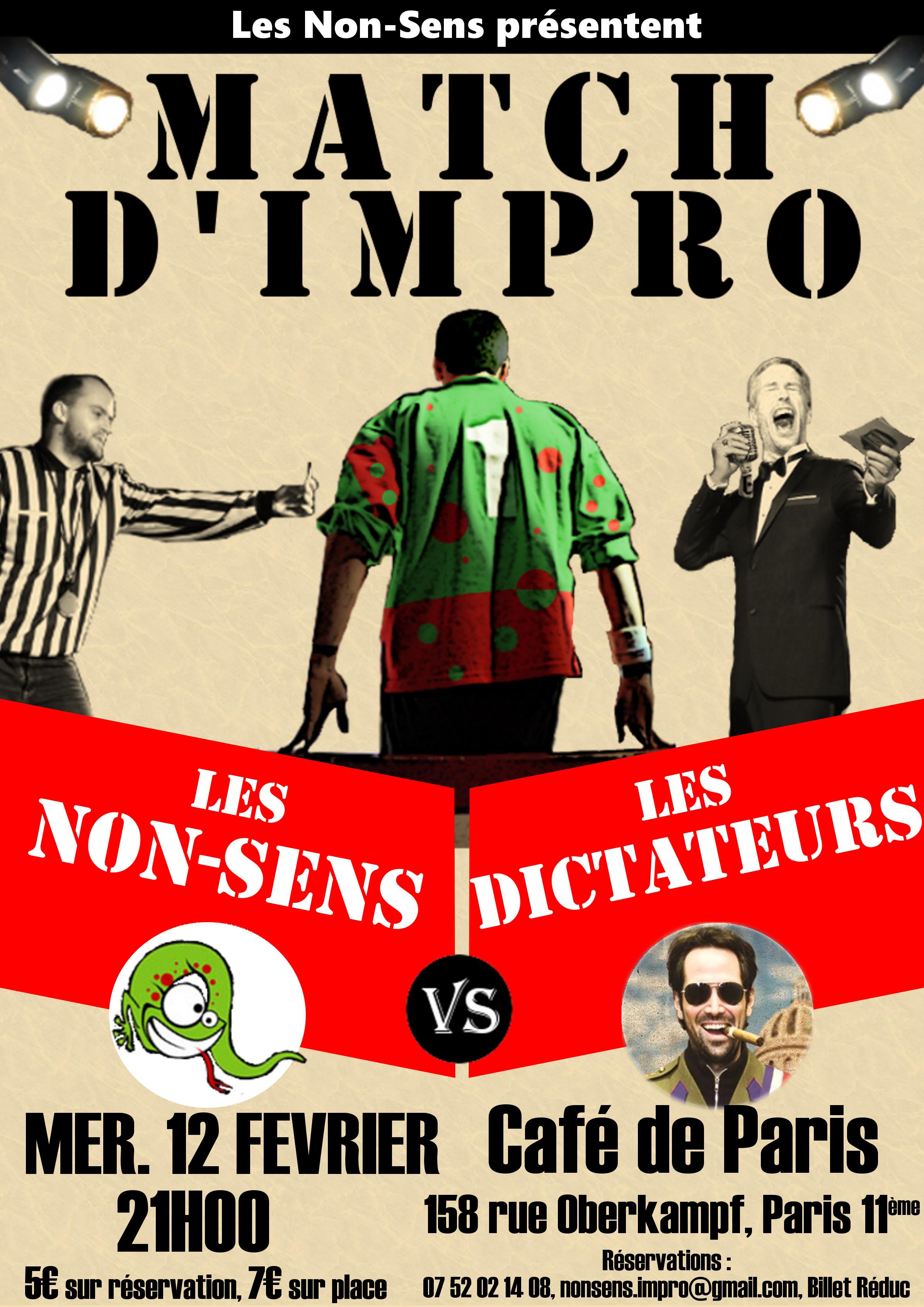 affiche_match_Non_Sens_Dictateurs_Fevrier2020